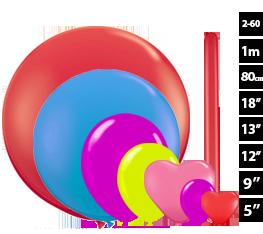 Μπαλόνια λάτεξ σε μικρή συσκευασία
