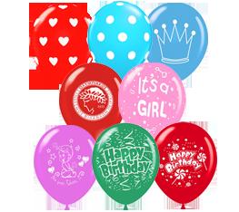 Τυπωμένα μπαλόνια