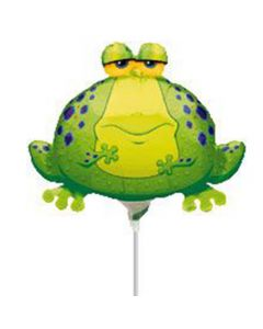 Anagram balloons 9 inch frog