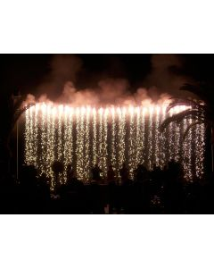 Fireworks waterfall fountain 6m