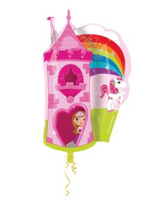 Anagram balloons castle princess and unicorn supershape
