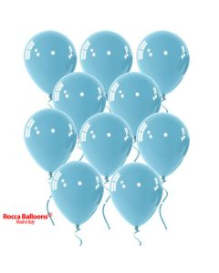 Balloon latex 9 inch pastel light blue 15 pcs
