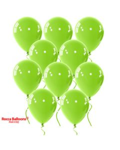 Balloon latex 9 inch pastel light green 15 pcs