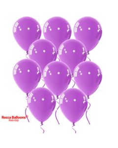 Balloon latex 9 inch pastel lilac