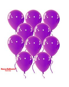 Balloon latex 9 inch pastel purple