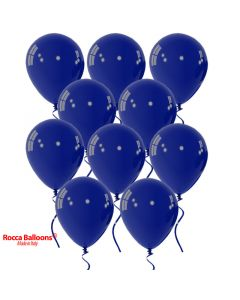 Balloon latex 9 inch pastel navy blue 15 pcs