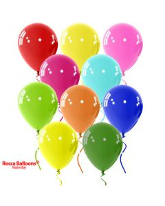 Balloon latex 9 inch pastel mix colors 15 pcs