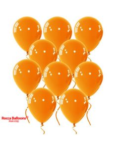 Balloon latex 9 inch pastel orange