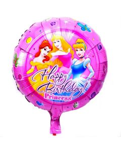 Μπαλόνι 18 inch foil Happy birthday Princess