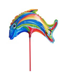 Balloons foil BF 9 inch dolphin multicolor ND