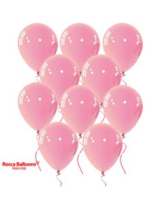Balloon latex 9 inch pastel pink