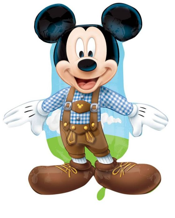 Anagram Μπαλόνια Supershape Mickey Mouse New