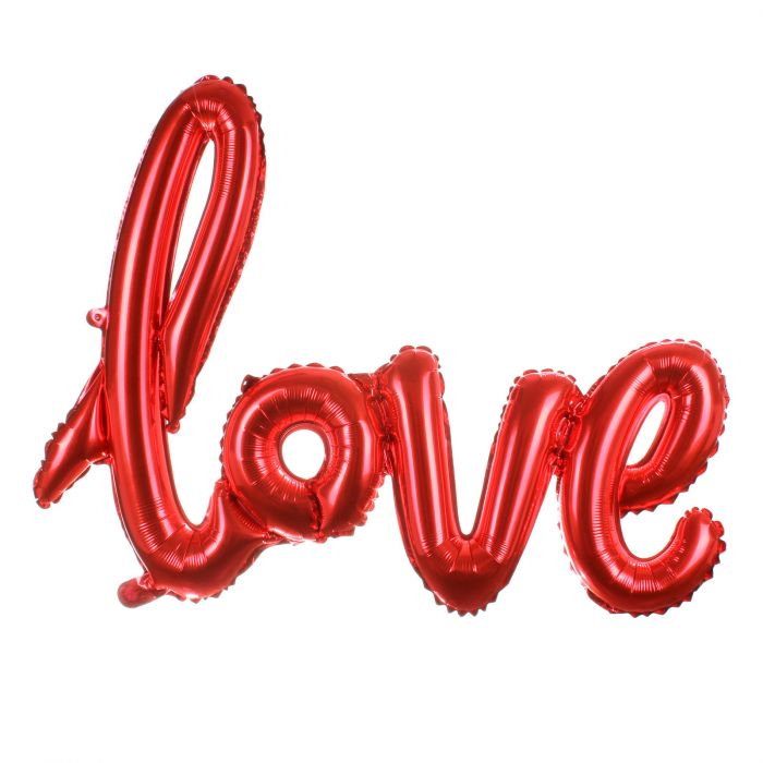 Balloon Love Word Red Color Nd Balloon Fire Eshop