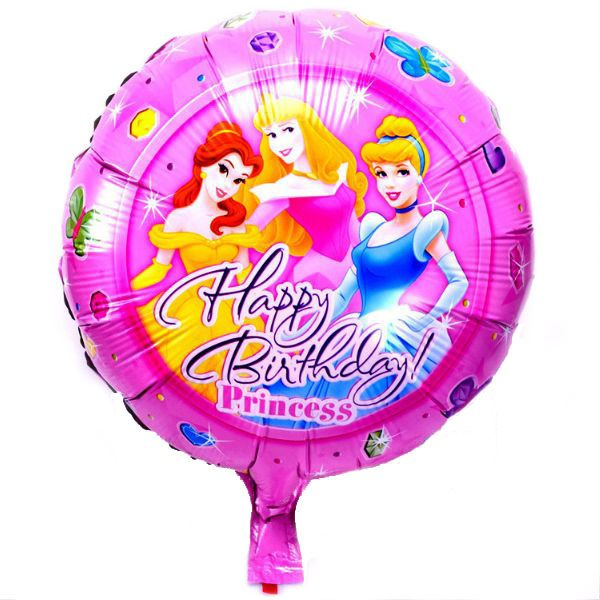 Μπαλόνι 18 inch foil Happy birthday Princess ND
