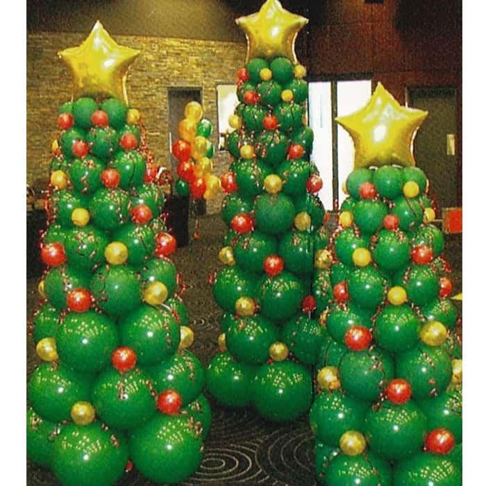 Στολισμός με μπαλόνια για τα Χριστούγεννα