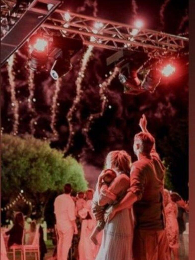 Ο μικρός Μπουρδούμης βαπτίστηκε υπό το φως των πυροτεχνημάτων της Balloon fire!!!
