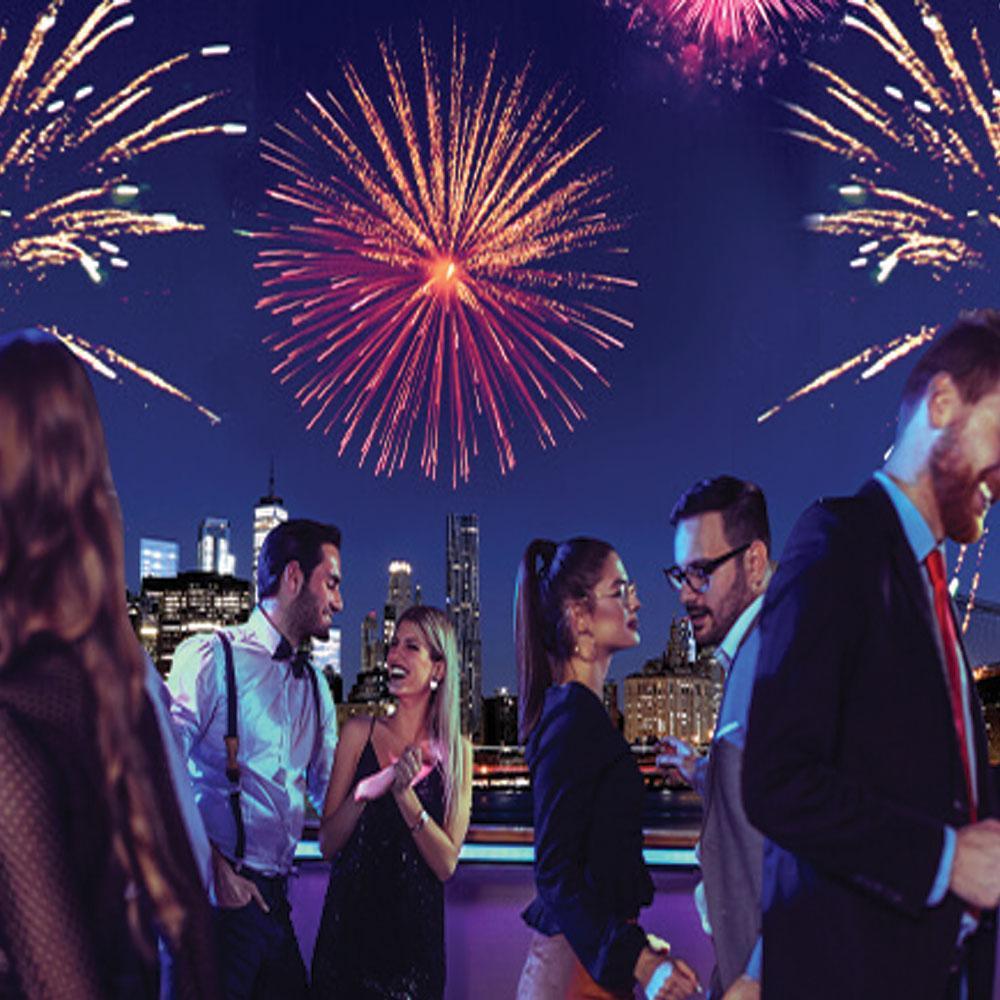 Υποδεχθείτε τη νέα χρονιά με πυροτεχνήματα