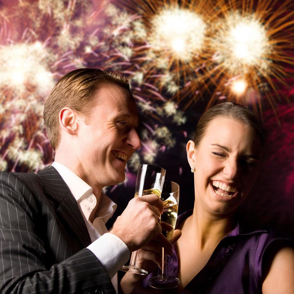 Πυροτεχνήματα στην δεξίωση του γάμου σας.